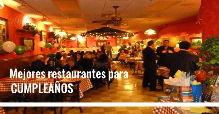 Restaurantes para cumpleaños en barranquilla