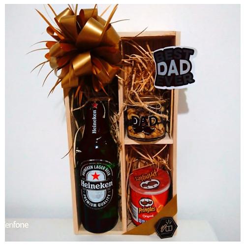 Botella heineken dia del padre